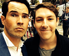 Dan John June with Jimmy Carr